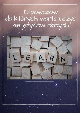 10 powodów dla których warto uczyć się języków obcych