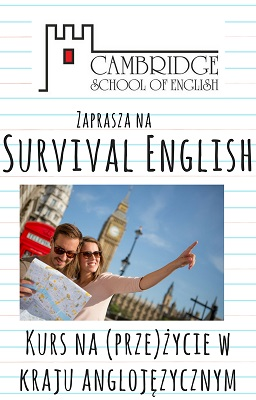 Survival EnglishKurs na przeżycie w kraju anglojęzycznym