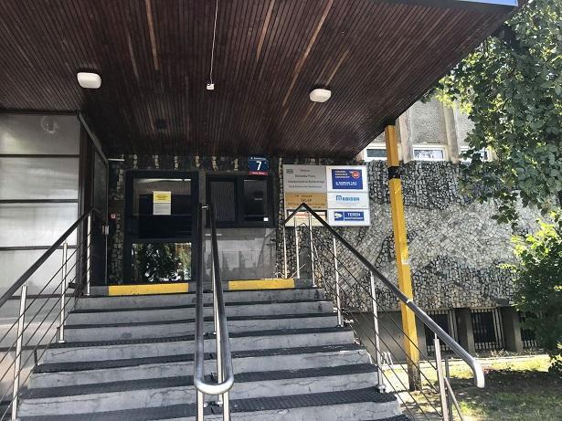 Konwiktorska entrance