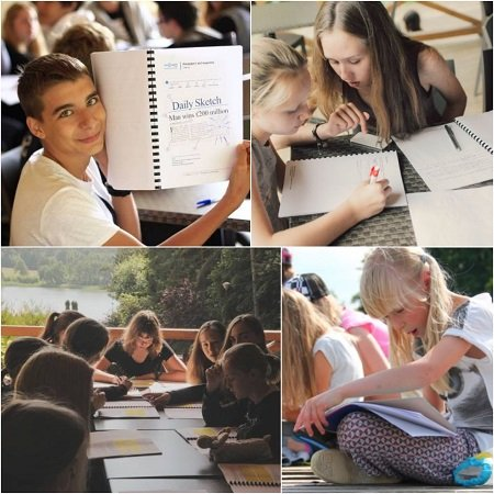 Intensive summer language workshops for children (summer day camps for kids and teens) aged 4-13 years