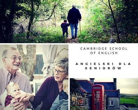 Na naukę nigdy nie jest za późno - język angielski dla seniorów, kurs języka angielskiego dla seniorów